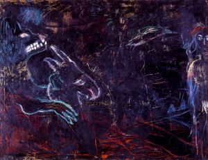 Untitled Oil and Wax #2, 1981